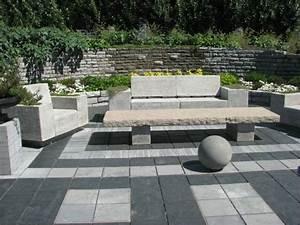 Salon De Jardin En Pierre : d coration de jardin en pierre en 31 id es inspirantes ~ Teatrodelosmanantiales.com Idées de Décoration