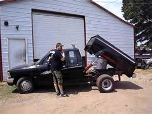 Pickup Dump Bed Kit by 2uz Toyota Engine Swap With Dump Bed And Dually Youtube