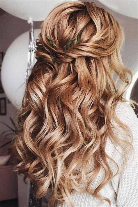 Half Up Half Formal Hairstyles For Hair by Try 42 Half Up Half Prom Hairstyles Curled