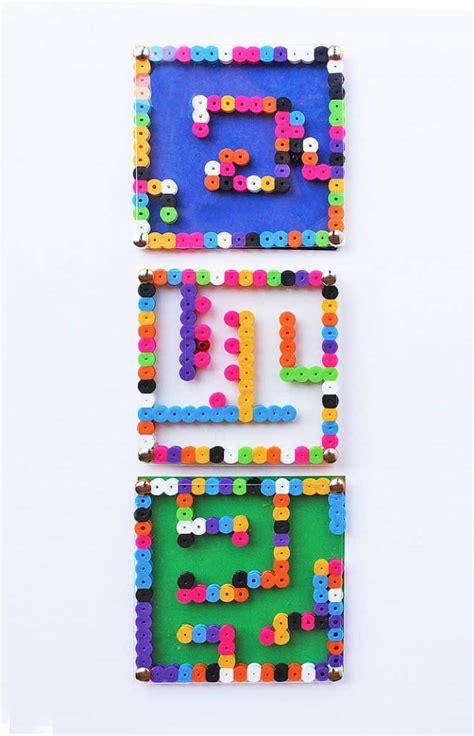 diy perler bead maze