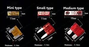 6 Models 600pcs 7 5a To 30a Original Mini Type Auto Fuse