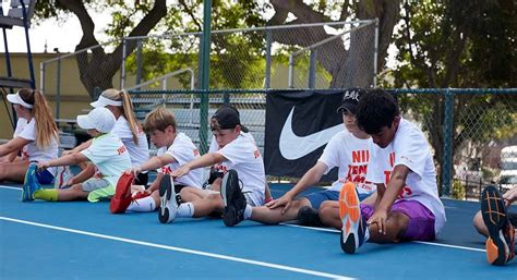 university  north texas nike tennis camp