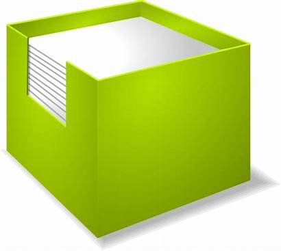 Paper Holder Stack Papers Box Clip Notes