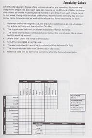 Printable Logic Puzzles With Answers