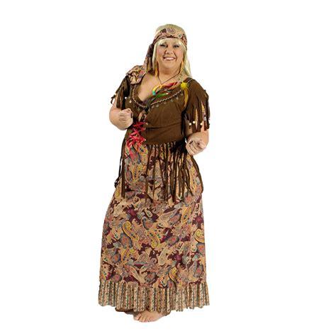 Hippie Kostu00fcm Damen Frauen 60er Jahre Flower Power u00dcbergru00f6u00dfe XXL grou00dfe Gru00f6u00dfen   eBay