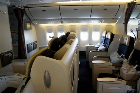siege a380 avis du vol air en affaires