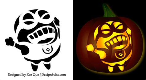 free pumpkin carving templates printable 5 free minion pumpkin carving stencils patterns ideas printable templates for