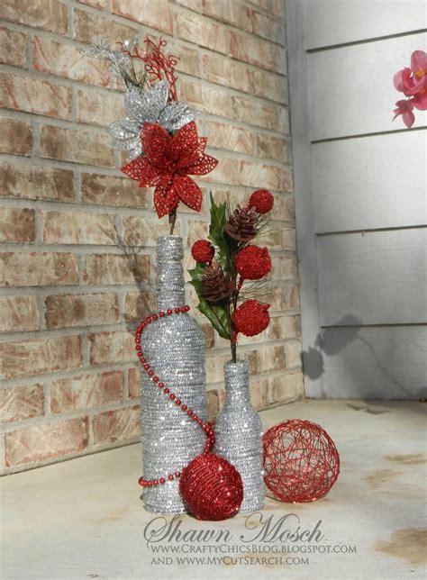 wine bottle diy christmas decor diy christmas christmas