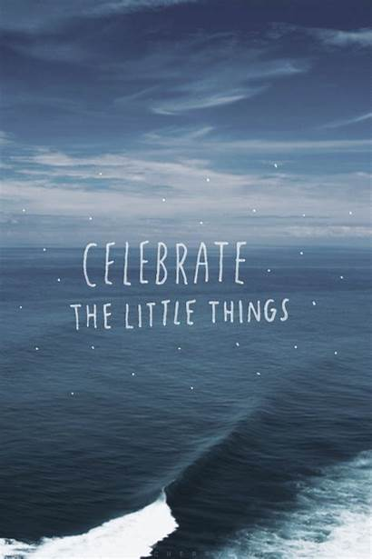 Celebrate Things Quotes Inspirational Quote Positive Words
