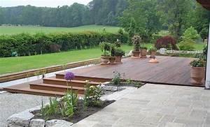 Terrasse Holz Stein Kombination : pin von anke kuhn auf terrasse pinterest ~ Eleganceandgraceweddings.com Haus und Dekorationen