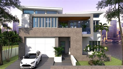 sketchup  story house plan xm bedroom youtube