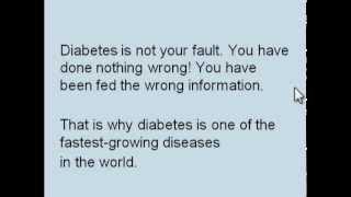 healthoverflowingcom health diabetes cure   days