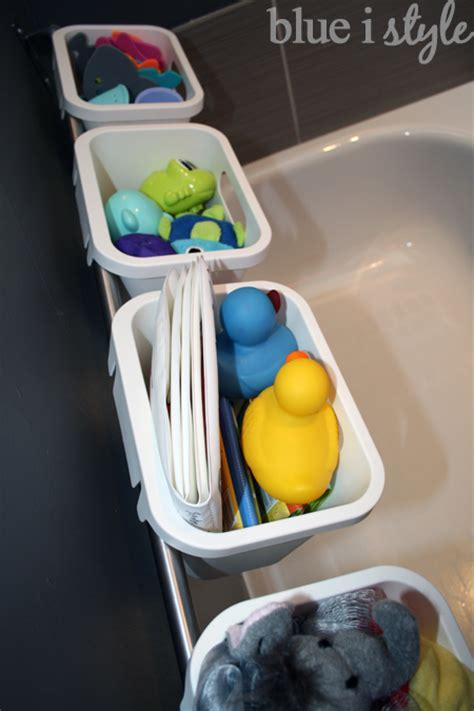 Hometalk   Stylish Bath Toy Storage