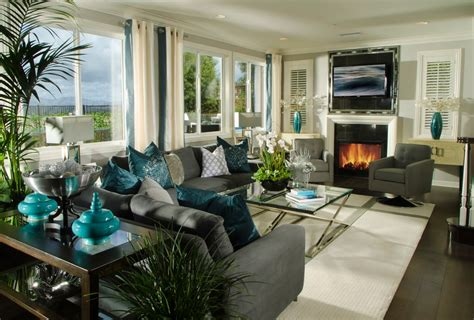Ideas For Living Room Teal by 22 Teal Living Room Designs Decorating Ideas Design