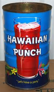 Hawaiian Punch Can