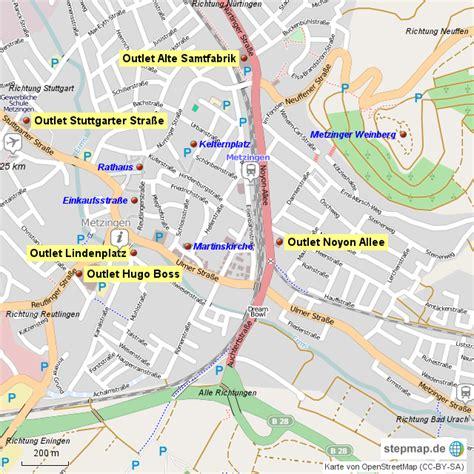 Outlet Deutschland Karte