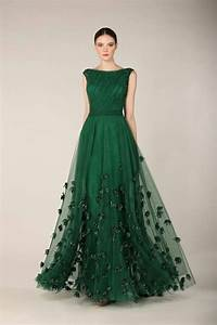 emerald gown stunning color palette emerald green With emerald wedding dress