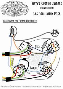 Les Paul Jimmy Page Style Prewired Harness Les Paul Mit