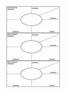 Kinsella vocabulary template printable vocabulary chart for Vocabulary words worksheet template