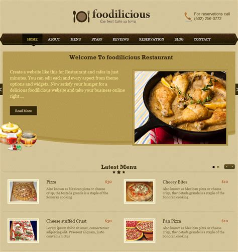 web cuisine image gallery web restaurant