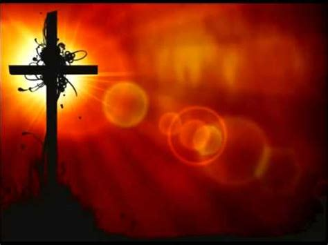 christianeastercross  orange red looping background