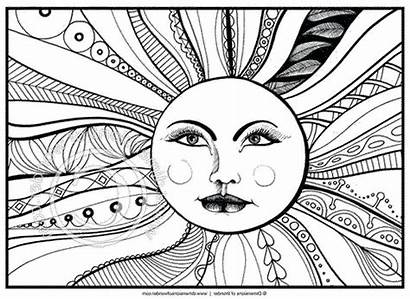 Coloring Pages Awesome Adults Cool Printable Getcolorings