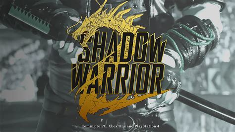shadow warrior  hd wallpapers