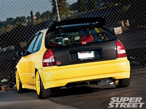 honda civic type   engine swap super street