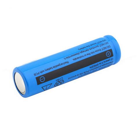 le led batterie rechargeable 28 images 14500 3 7v 2800mah rechargeable li ion battery for