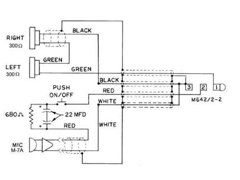 David Clark Company Electrical Schematic