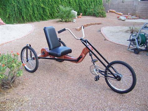 Wood Recumbent Bicycle Plans