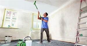 Rolle Zum Streichen : w nde streichen mit bosch paintroller bauen renovieren ~ Jslefanu.com Haus und Dekorationen