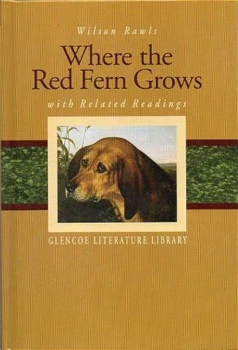 red fern grows  related readings  wilson rawls