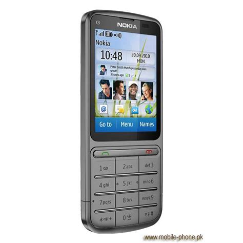 Nokia Mobile C3 by Nokia C3 01 Touch And Type Mobile Pictures Mobile Phone Pk