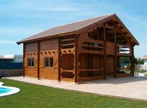 Chalet Bois Kit : susana chalet en bois ~ Carolinahurricanesstore.com Idées de Décoration