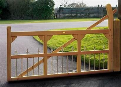 Single Driveway Gates Gate Wooden Double Con