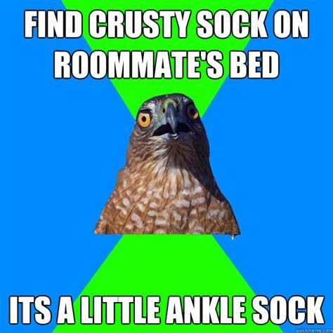 Sock Meme - crusty sock