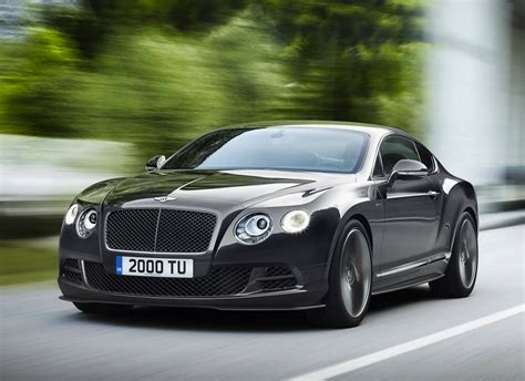 2014 bentley continental gt speed is new fastest model