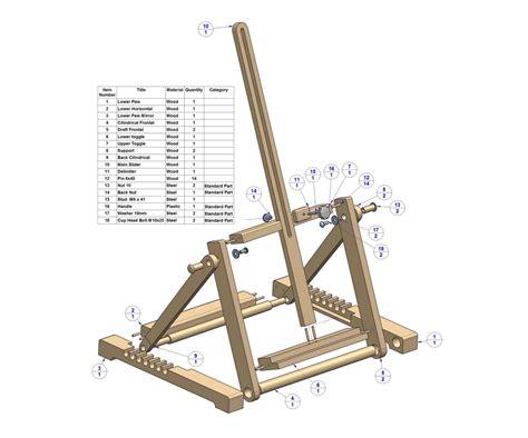 desk easel plans  woodworking