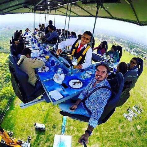restaurant la cuisine dinner in the sky dangles diners 150 los angeles