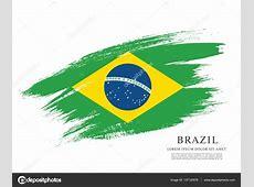 Bandeira de fundo do Brasil — Vetor de Stock © Igor_Vkv