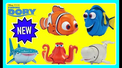 finding dory swigglefish  dory nemo hank destiny