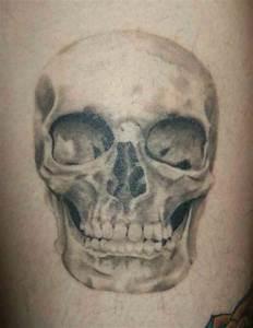 Custom Realistic Skull Tattoo by Alexandra Novotna at ...