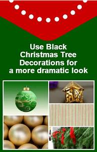 Black Christmas Tree DecorationsShopping Discoveries