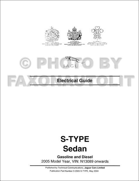 2000 jaguar s type electrical guide wiring diagram pdf