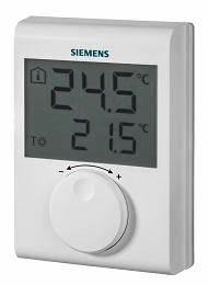 Rdh100 Siemens Termostato Digital No Programable
