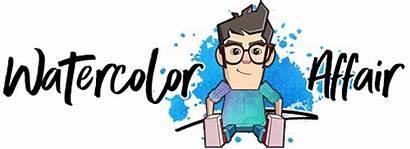 Watercolor Easy Step Watercoloraffair Paintings Beginners Painting