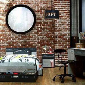 Deco Maison Industriel : d co chambre gar on industriel ~ Teatrodelosmanantiales.com Idées de Décoration