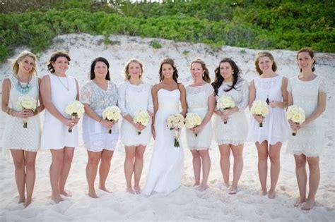 Beach bridesmaids,bridesmaids beach wedding