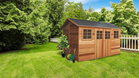 Perth Garden Sheds - stilla cedar storage and outdoor products australia